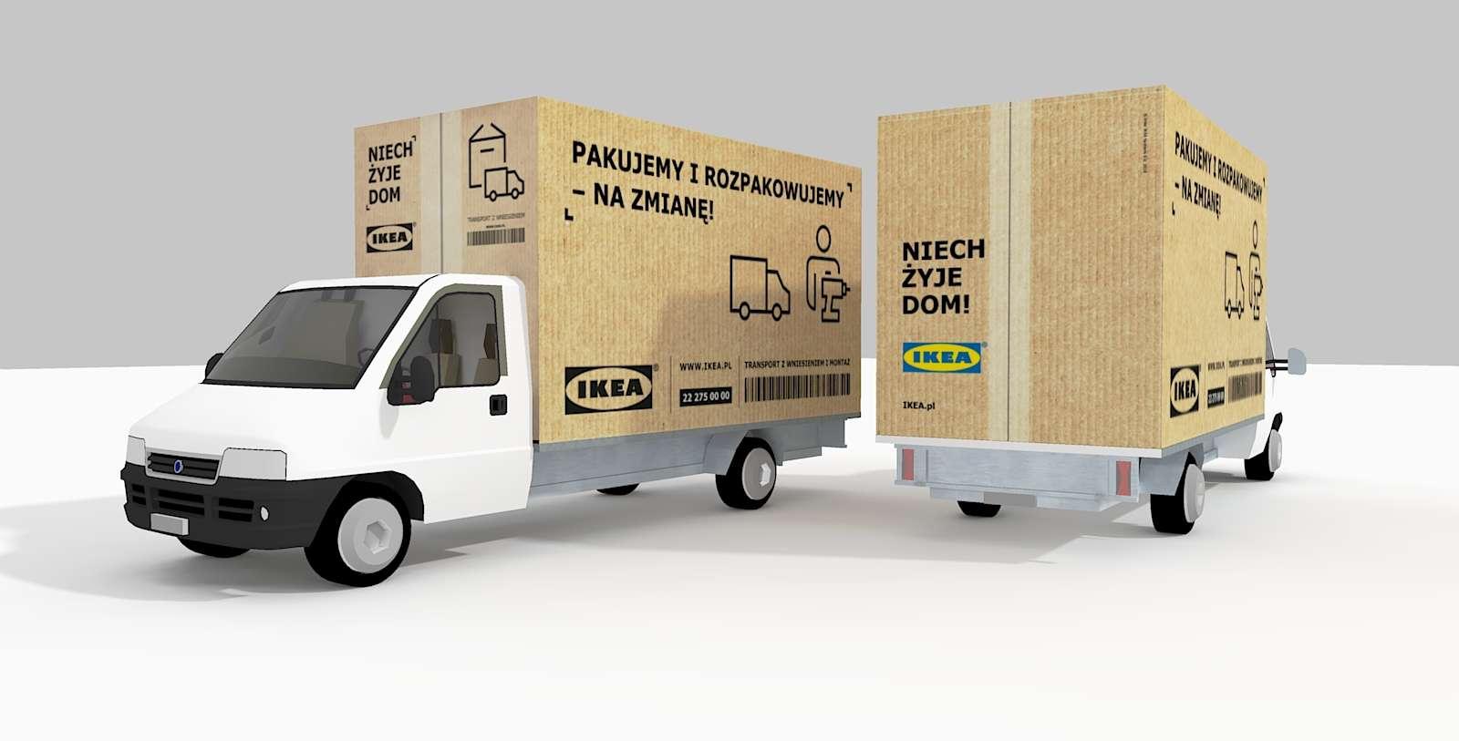IKEA Van Kfz Lieferwagen